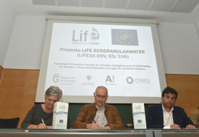 Members of the Life Ecogranularwater Project's beneficiary entities have signed the Partnership Agreement