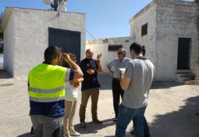 The Project Partnership of LIFE ECOGRANULAR visit the municipality of Torre Cardela