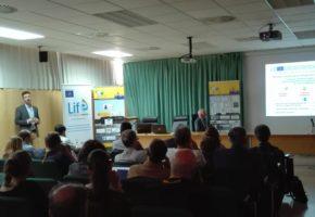 """La Diputación de Granada presenta el Proyecto LIFE ECOGRANULARWATER en el """"X Simposio del Agua en Andalucía"""" (SIAGA) en Huelva"""