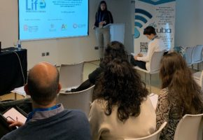 The Department of Microbiology of the UGR Water Research Institute presented the trajectory of the LIFE Project at EU Water Innovation Conference 2019