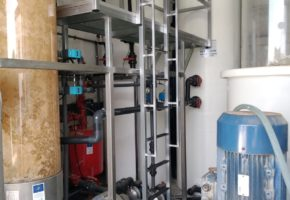 Complete installation of the prototype of the LIFE ECOGRANULARWATER Project